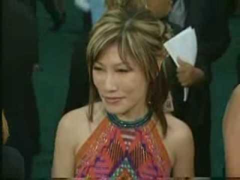 International pop star Sun Ho 何耀珊 at the 46th Grammy Awards