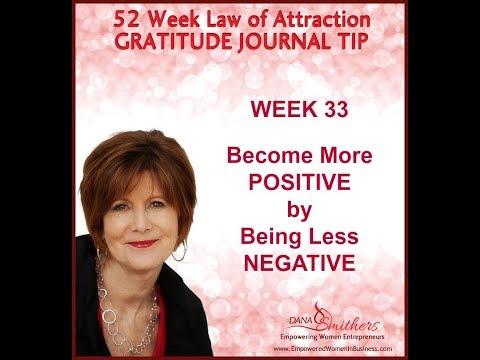 WEEK 33 LAW OF ATTRACTION GRATITUDE JOURNAL TIP