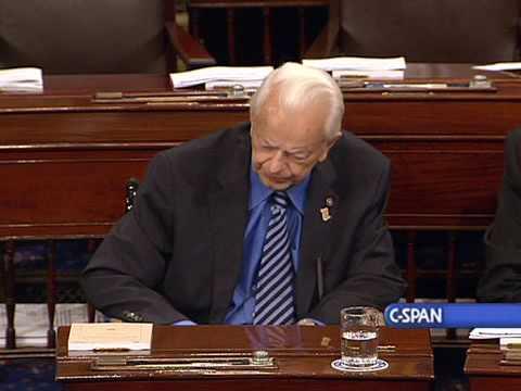 Sen. Robert Byrd (D-WV) Senate Floor Remarks on Afghanistan