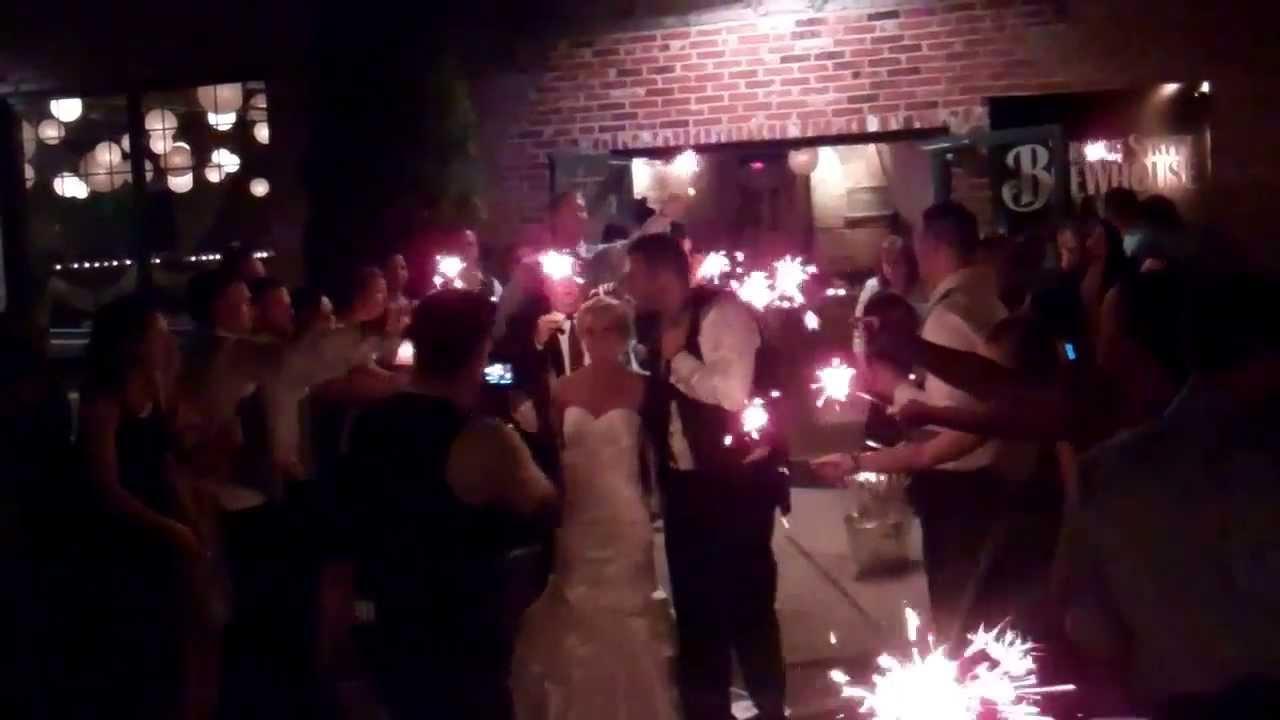 Wedding Ideas 2014 Sparkler Send Off Youtube