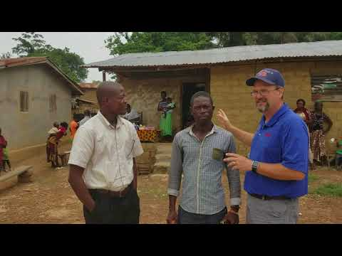 Medical Clinic by Evangelical Church of Liberia near Palala