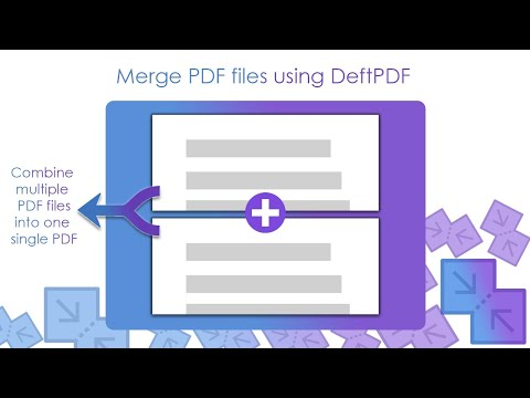 How to Merge or Combine Multiple PDF Files into One Single PDF File Using DeftPDF