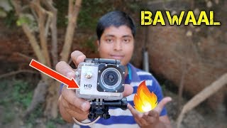 ₹799/- Cheapest Action Camera 2019 With 4k Unboxing And Review /Giveaway in Hindi