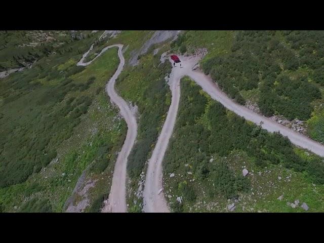 Black Bear Pass and Alpine Loop Drone Footage
