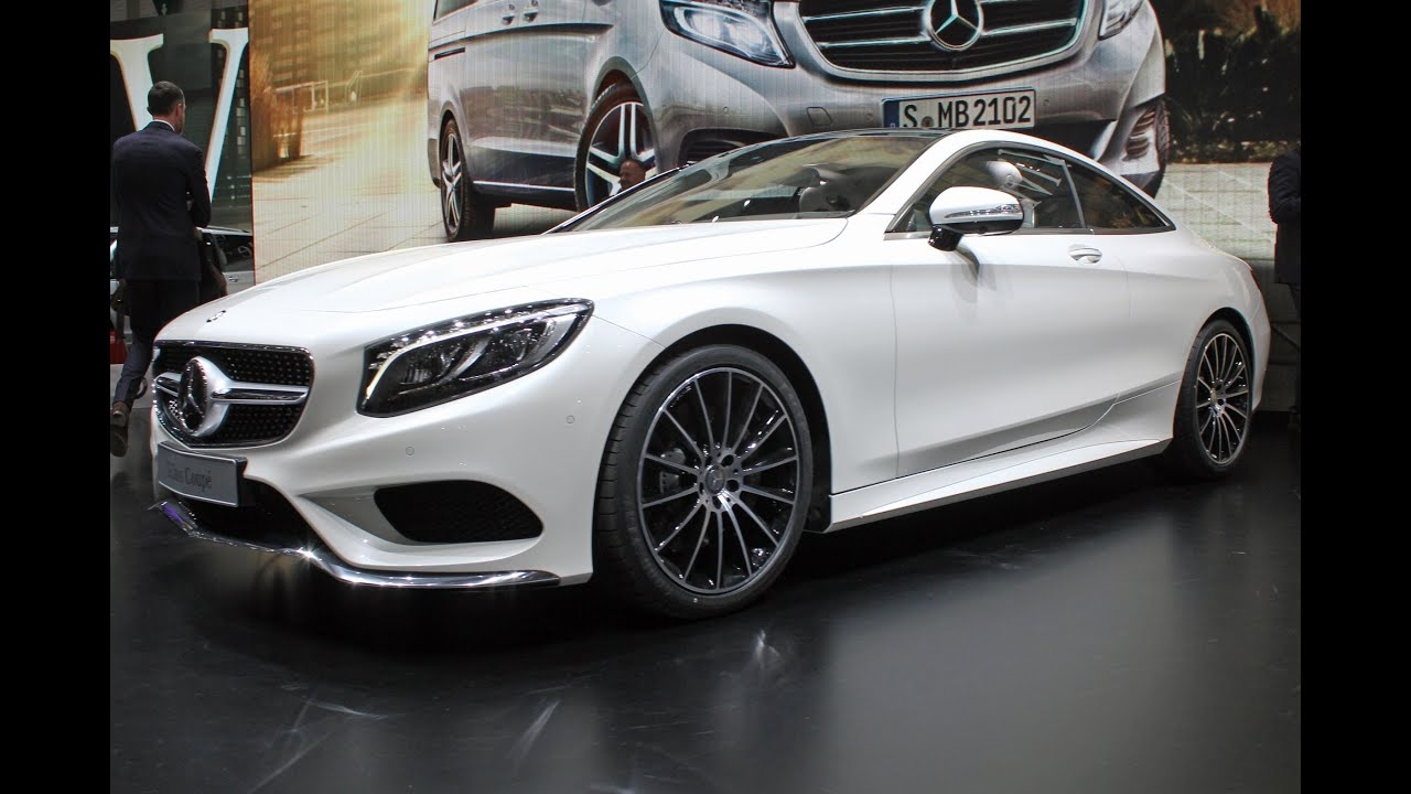 neues mercedes s klasse coupe 2014 auf dem genfer autosalon video youtube. Black Bedroom Furniture Sets. Home Design Ideas