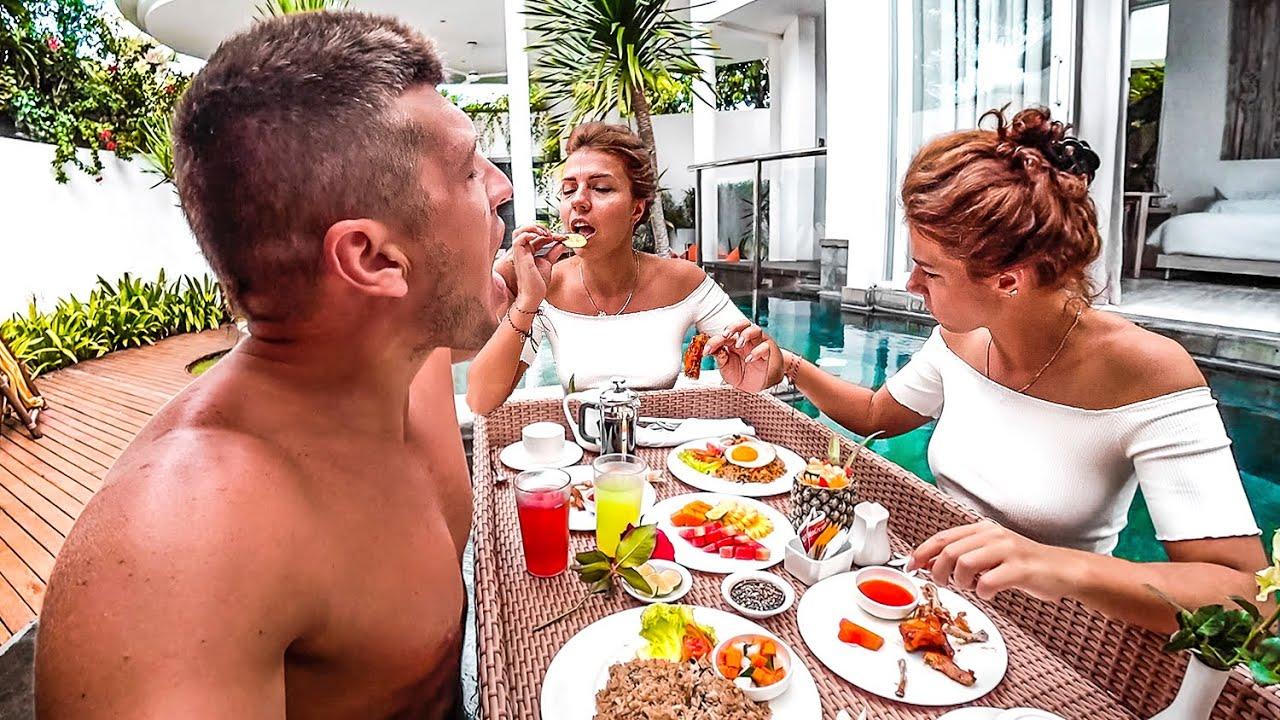 Как мы живем на Бали. Едим за троих. Романтично обнулились