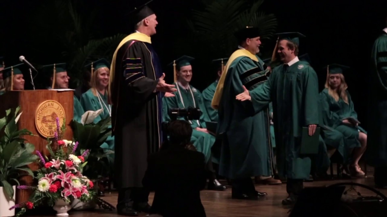 2017 Graduation Ceremony of MSU CANR Institute of Agricultural ...