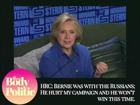 Michael Berry - Popcorn: Hillary Now Says That Bernie Sanders Is A Russian Asset As Well