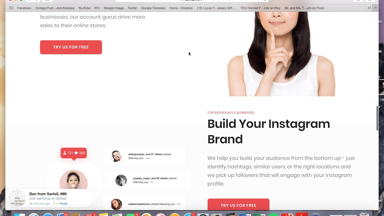 Upleap Review- How to Grow Your Instagram Following