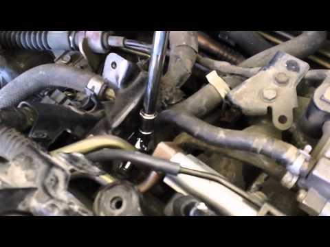 Honda Civic GX CNG Fuel Injector Install (part 2)