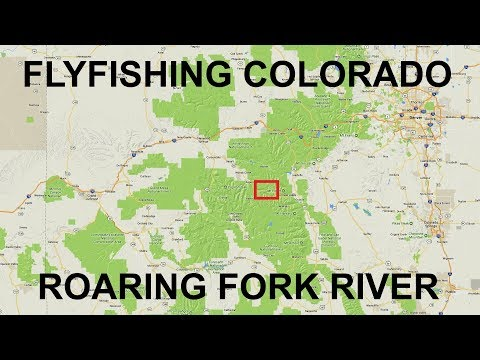 Fishing Near Aspen, CO.   Roaring Fork River