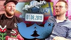 Druck im Autorenraum & Wie funktioniert Twitter? | MoinMoin mit Etienne & Max Bierhals