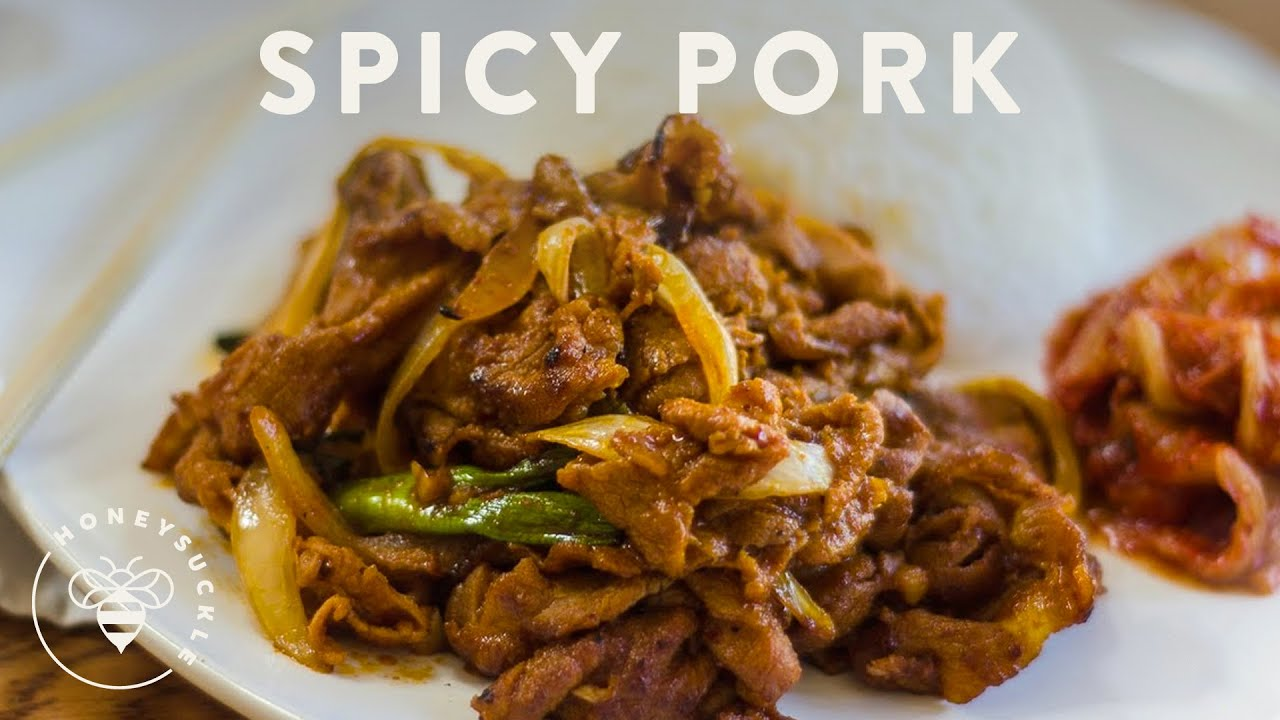 Korean Grill Pork Recipe