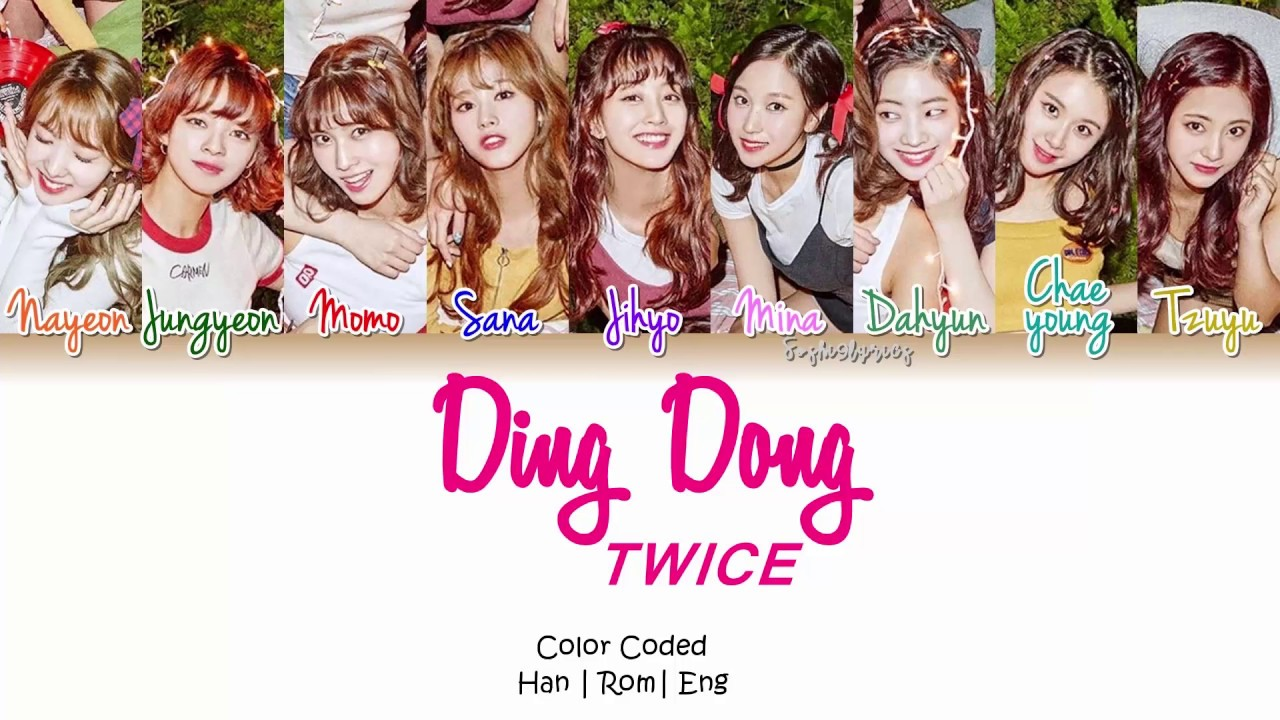 TWICE – Ding Dong