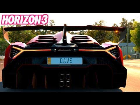 Lamborghini Veneno – FORZA HORIZON 3 Lets Play 4K 60FPS Gameplay German Deutsch