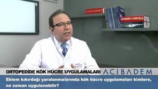 Eklem kıkırdağı yaralanmalarında kök hücre uygulamaları kimlere ne zaman uygulanabilir ?