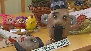 Королёвские дошкольники сделали турка из картофелины