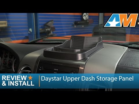 2004-2008 Ford F-150 Daystar Upper Dash Storage Panel Review & Install