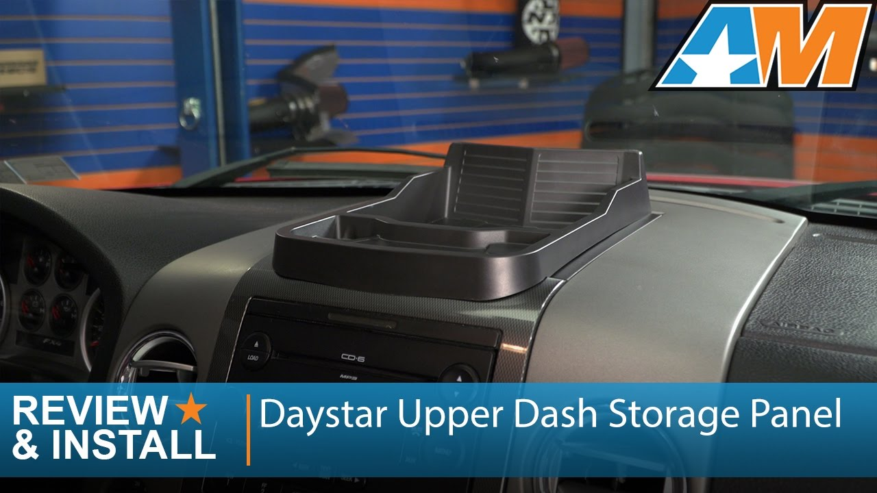 Daystar KF71018 Black Upper Dash Panel for 2004-2008 Ford F-150 by Daystar