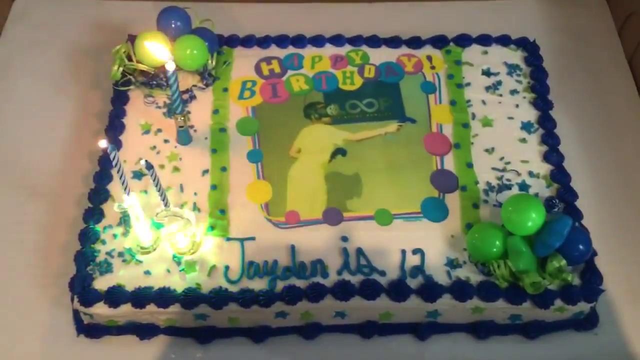 Virtual Birthday Cake Generator