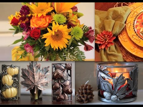 Decor Ideas For Fall/Autumn & ThanksGiving! :)