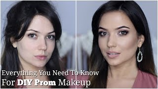 Drugstore Prom Makeup Tutorial | EVERYTHING you need to know for DIY Prom Makeup | TheMakeupChair