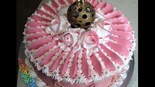 оформление подарочного торта БЗК.