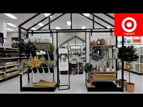 TARGET SPRING 2019 HEARTH & HAND - CHIP AND JOANNA GAINES HOME DECOR SHOP WITH ME SHOPPING 4K