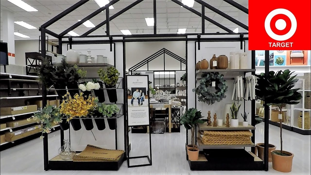 Target Spring 2019 Hearth Hand Chip And Joanna Gaines Home Decor Shop With Me Shopping 4k