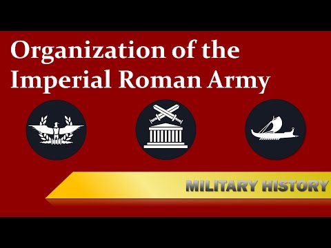 [Imperial Roman Army] Organization & Structure
