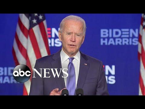 Biden pulls ahead in tight swing …