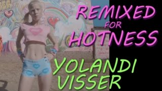 Yolandi Visser showing off her body: Die Antwoord Baby's on Fire - Remixed for Hotness