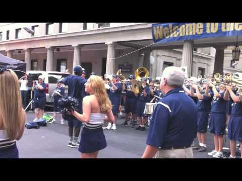 Pitt Pep Band - Victory Song and Hail to Pitt Sequence