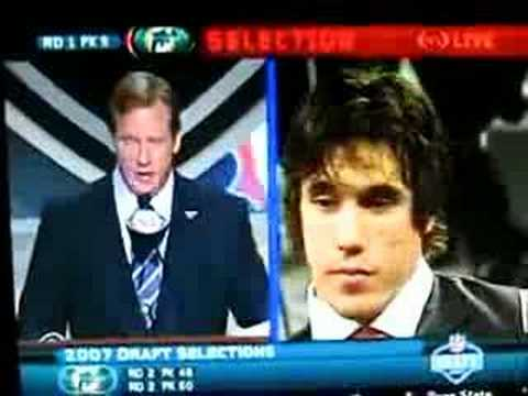 Brady Quinn gets OWNED in the NFL DRAFT