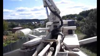 Работа бетононасоса в условиях трудного подъезда(, 2014-09-11T09:55:41.000Z)
