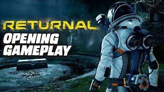Returnal Opening Gameplay Livestream