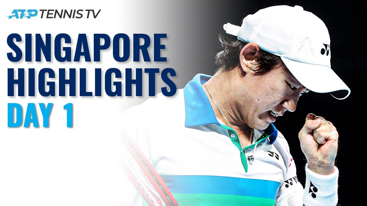Nishioka, Popyrin Feature on First Day | Singapore Tennis Open 2021 Highlights Day 1