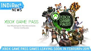 Ten Games Leave Xbox Game Pass In February 2019 - Indirect News
