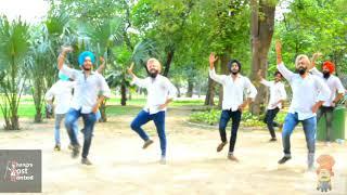 Bhangra on Tochan| Sidhu Moose Wala | Bhangra Most Wanted colab with Patiala Shahi Wale