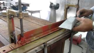 Homemade Bending Tool -sheet Metal Brake