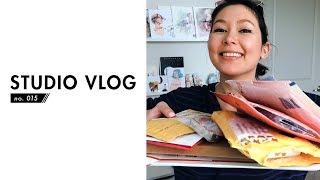 Download Mp3 Late May Vlog - Warning! Lots Of Happy Squealing! | Studio Vlog No. 015