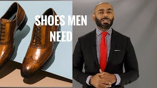 Top 10 Types Of Shoes All Men Need/Top 10 Shoe Styles All Men Should Own