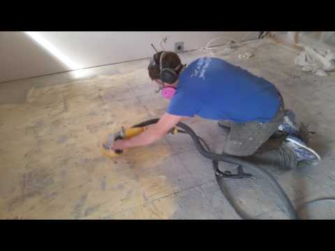 Removing Thinset From Subfloor