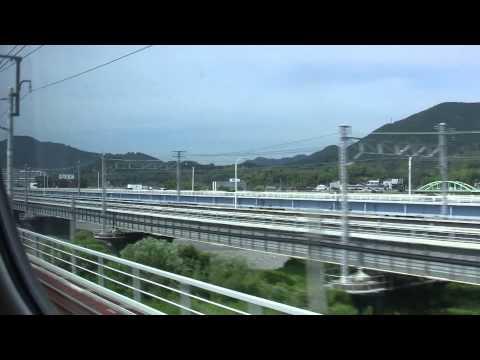 【HD】東海道新幹線 Shinkansen こだま639号 東京(Tokyo)-名古屋(Nagoya)
