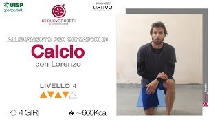 CALCIO TRAINING - Livello 4 - 2