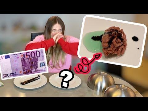 Julian zahlt mir 500€ wenn ich DAS esse 🤢| Bibi
