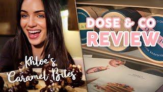 Dose &amp Co. Review + Khloe Kardashian&#39s Salted Caramel Bites Recipe