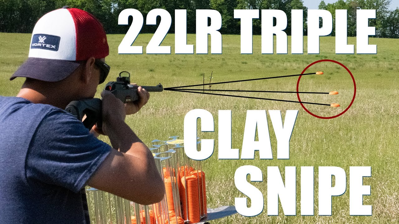Wildcat 22lr Triple Clay Snipe | Gould Brothers
