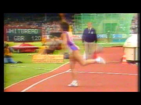 FATIMA WHITBREAD 77,44 m. WR (1986)