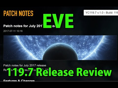 🔴LIVE EVE Release 119.7 Review T3 Changes, Project Discovery etc- EVE Online Live